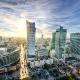 Nowe biurowce w Warszawie